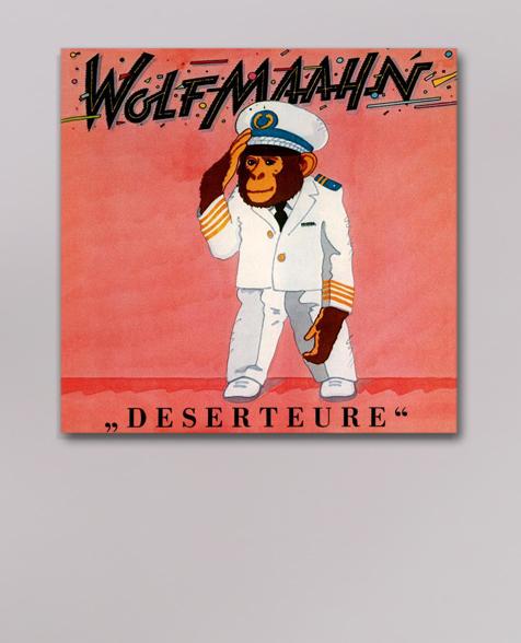 Wolf Maahn Deserteure CD