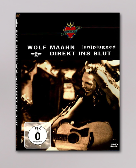 Wolf Maahn Direkt ins Blut DVD