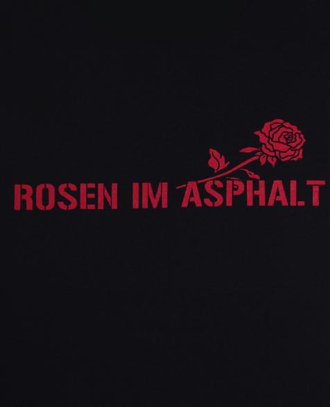 Wolf Maahn Rosen T-Shirt schwarz