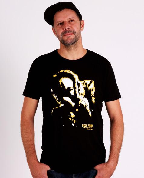 Wolf Maahn Lieder vom Rand der Galaxis T-Shirt black