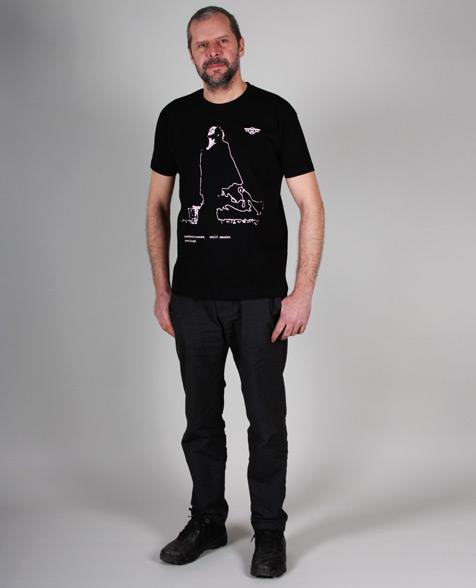 Wolf Maahn Zauberstrassen T-Shirt schwarz