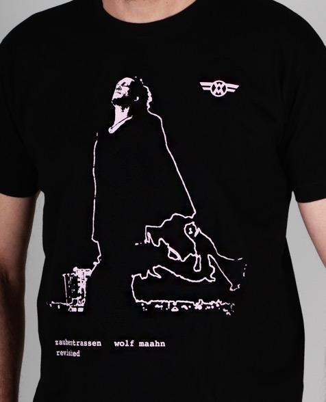 Wolf Maahn Zauberstrassen T-Shirt black